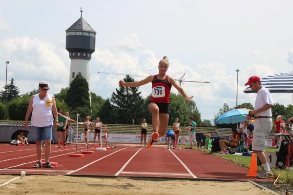 Weitsprung badische Meisterschaften