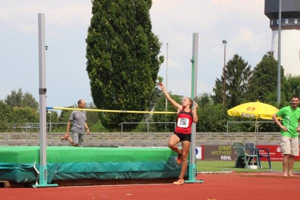 Hochsprung badische Meisterschaften