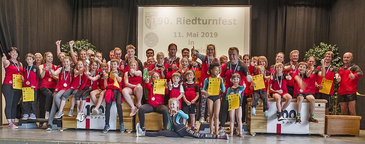 Die Athleten des TUS-Hugsweier